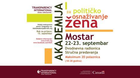 TI BiH Akademija političkog osnaživanja žena
