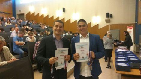 "ZLATO I SREBRO ZA NAŠE UČENIKE NA TAKMIČENJU ""INOVA-MLADI"""