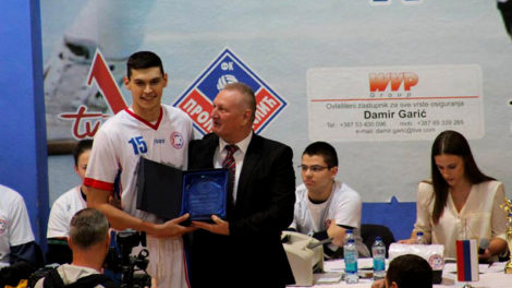 Dalibor Ilić, najbolji košarkaš Republike Srpske